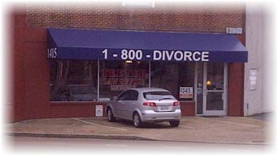 1-800-DIVORCE Humor
