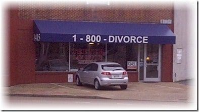 1-800-Divorce awning
