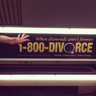 1-800-Divorce Public Transport #2